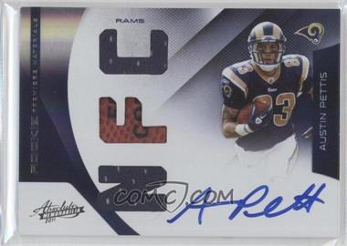 2011 Absolute Memorabilia Rookie Premiere Materials AFC/NFC Signatures [Autographed] [Memorabilia] #209 - Austin Pettis /49