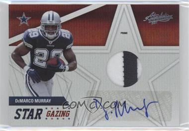2011 Absolute Memorabilia Star Gazing Materials Prime Signatures [Autographed] [Memorabilia] #35 - DeMarco Murray /25