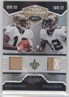 Marques Colston, Devery Henderson /25