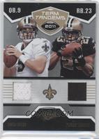 Drew Brees, Pierre Thomas /50