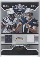 Antonio Gates, Philip Rivers /50