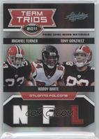 Tony Gonzalez, Michael Turner, Roddy White /25
