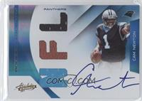 Rookie Premiere Materials NFL Signatures - Cam Newton /199