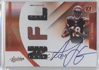 Rookie Premiere Materials NFL Signatures - A.J. Green /194