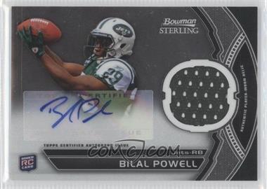 2011 Bowman Sterling - Autograph Relics #BSAR-BP - Bilal Powell
