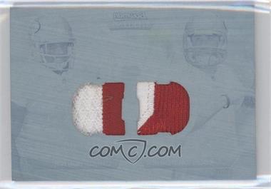 2011 Bowman Sterling - Box Topper Dual Relic - Printing Plate Cyan #BSDR-1 - Colin Kaepernick, Kendall Hunter /1