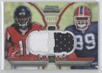 Julio Jones, Marcell Dareus /75
