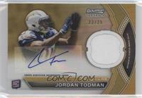 Jordan Todman /25