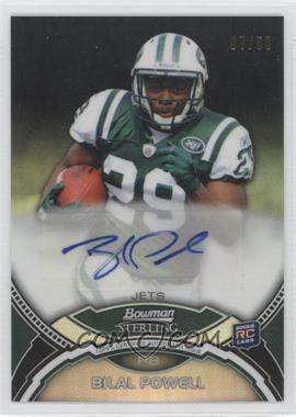 2011 Bowman Sterling Black Refractors #BP - Bilal Powell /50