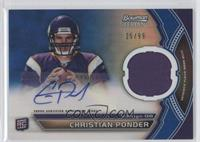 Christian Ponder /99