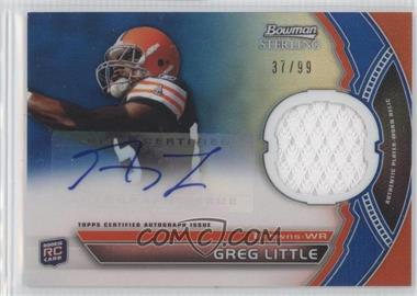 2011 Bowman Sterling Blue Refractors #BSAR-GL - Greg Little /99