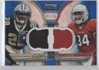 Mark Ingram, Ryan Williams /50