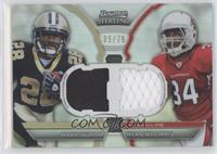 Mark Ingram, Ryan Williams /75