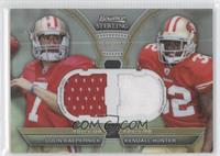 Colin Kaepernick, Kendall Hunter /75