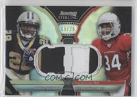 Mark Ingram, Ryan Williams /25