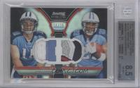 Jake Locker, Jamie Harper /25 [BGS 8.5]