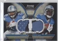 Mikel Leshoure, Titus Young /25