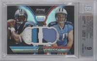 Cam Newton, Jake Locker /25 [BGS 9]
