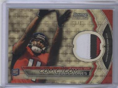 2011 Bowman Sterling Relics Superfractors #BSR-JJ - Julio Jones /1
