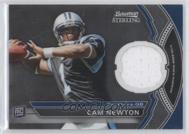 2011 Bowman Sterling Relics #BSR-CN - Cam Newton