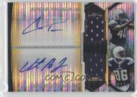 Jordan Todman, Vincent Brown /60