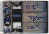 Mikel Leshoure, Titus Young, Nick Fairley /5