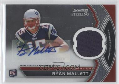 2011 Bowman Sterling #BSAR-RM - Ryan Mallett
