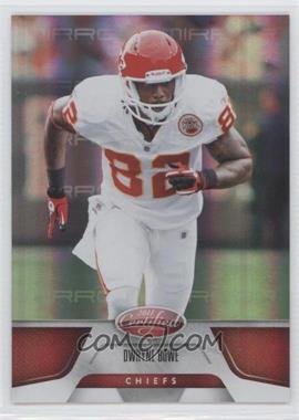 2011 Certified - [Base] - Mirror Red #73 - Dwayne Bowe /250