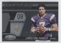 Christian Ponder /999