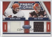 Bernie Kosar, Colt McCoy /150