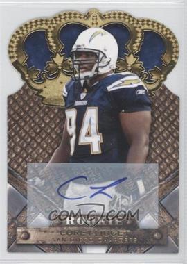 2011 Crown Royale - [Base] - Gold Signatures [Autographed] #118 - Corey Liuget /499