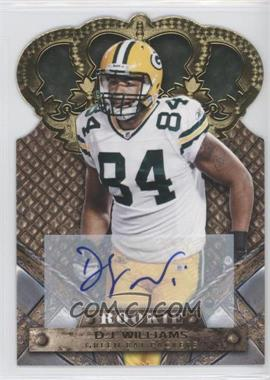 2011 Crown Royale - [Base] - Gold Signatures [Autographed] #119 - D.J. Williams /499