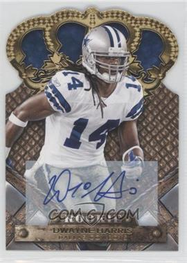 2011 Crown Royale - [Base] - Gold Signatures [Autographed] #131 - Dwayne Harris /499