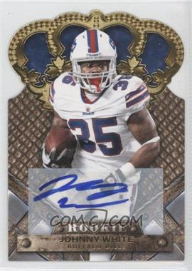 2011 Crown Royale - [Base] - Gold Signatures [Autographed] #146 - Johnny White /499