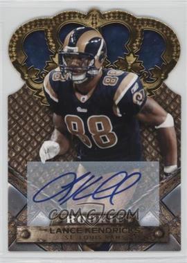 2011 Crown Royale - [Base] - Gold Signatures [Autographed] #155 - Lance Kendricks /499