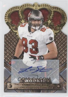 2011 Crown Royale - [Base] - Gold Signatures [Autographed] #157 - Luke Stocker /499