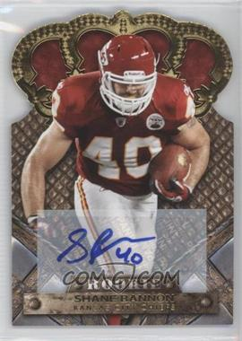 2011 Crown Royale - [Base] - Gold Signatures [Autographed] #189 - Shane Bannon /499