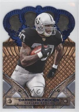 2011 Crown Royale Blue #22 - Darren McFadden /100