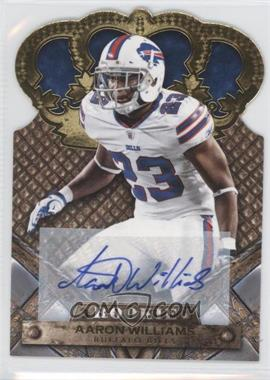 2011 Crown Royale Gold Signatures [Autographed] #101 - Aaron Williams /499