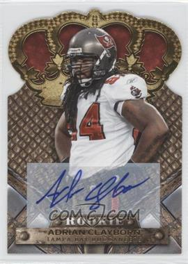 2011 Crown Royale Gold Signatures [Autographed] #102 - Adrian Clayborn /499