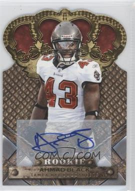 2011 Crown Royale Gold Signatures [Autographed] #103 - Ahmad Black /499