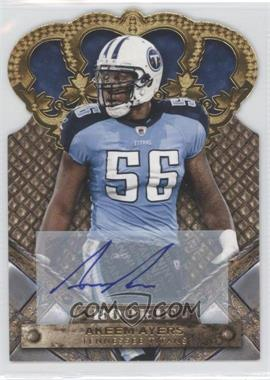 2011 Crown Royale Gold Signatures [Autographed] #104 - Akeem Ayers /499