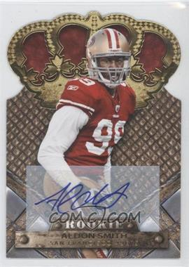2011 Crown Royale Gold Signatures [Autographed] #105 - Aldon Smith /499