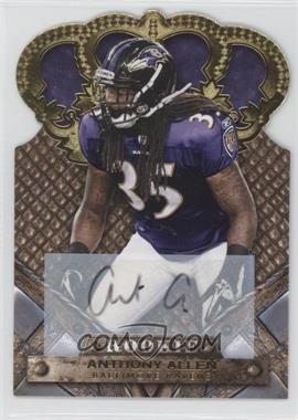 2011 Crown Royale Gold Signatures [Autographed] #108 - Anthony Allen /499