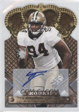 2011 Crown Royale Gold Signatures [Autographed] #115 - Cameron Jordan /499