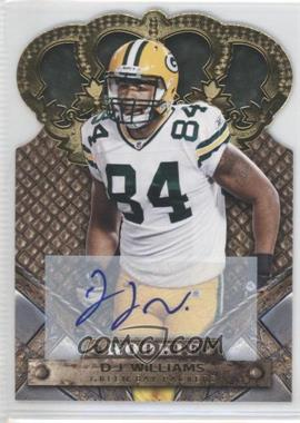 2011 Crown Royale Gold Signatures [Autographed] #119 - D.J. Williams /499