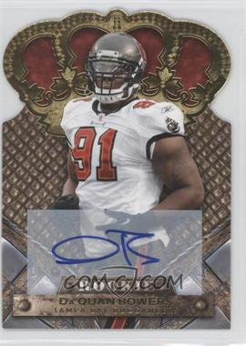 2011 Crown Royale Gold Signatures [Autographed] #120 - Da'Quan Bowers /499