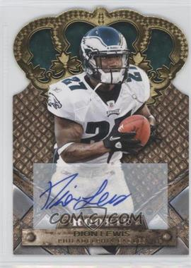2011 Crown Royale Gold Signatures [Autographed] #129 - Dion Lewis /499