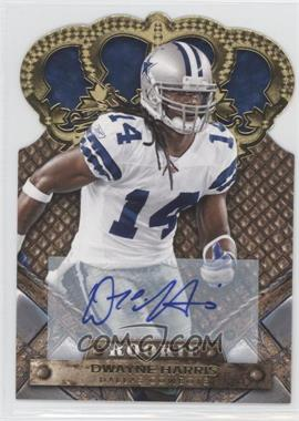 2011 Crown Royale Gold Signatures [Autographed] #131 - Dwayne Harris /499
