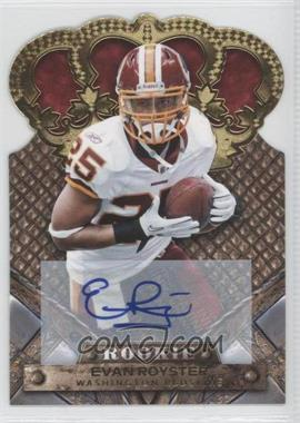 2011 Crown Royale Gold Signatures [Autographed] #132 - Evan Royster /499